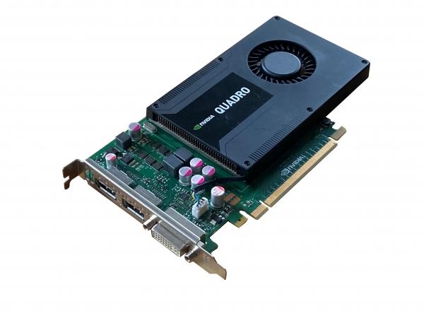 Nvidia Quadro K2000 2GB Ein-Slot Grafikkarte für Mac Pro 3.1, 4.1 & 5.1 - Mojave und Bootscreen